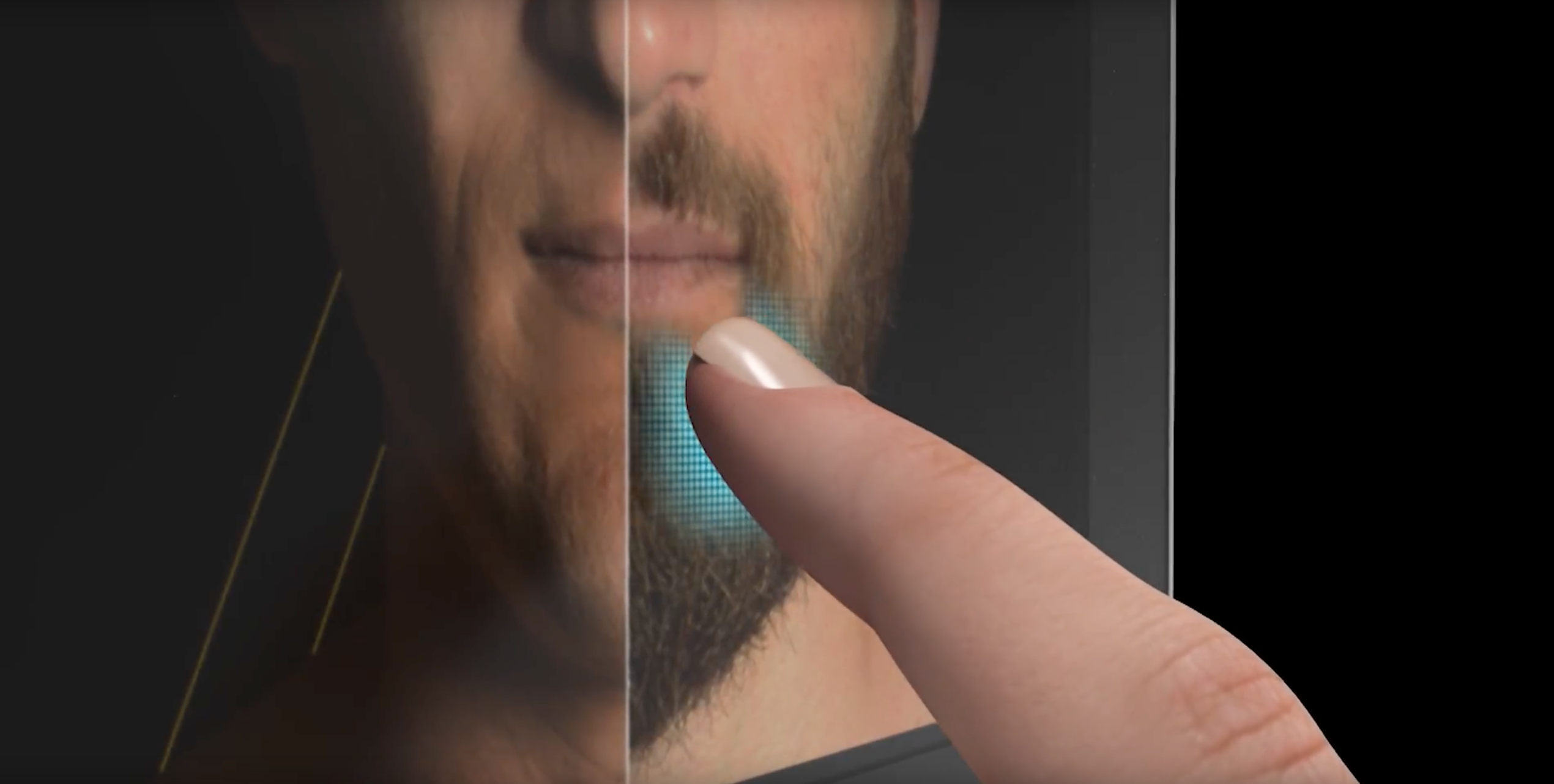 Gillette skin to surface haptic campaign