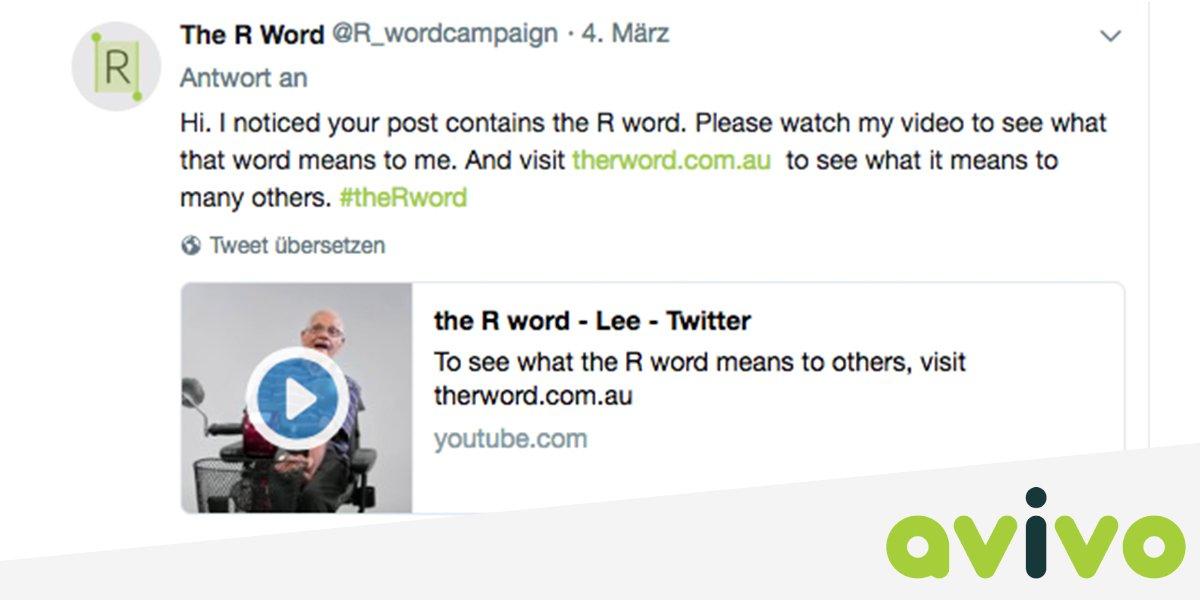 Februar 2018 The R Word