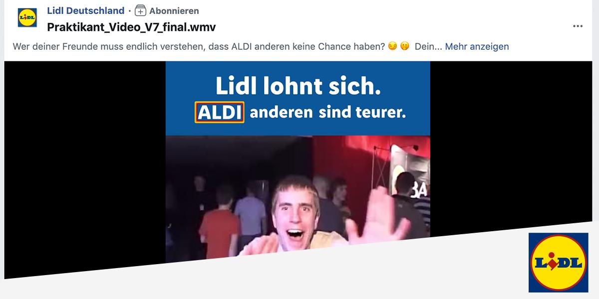 Lidl Meme Facebook Video