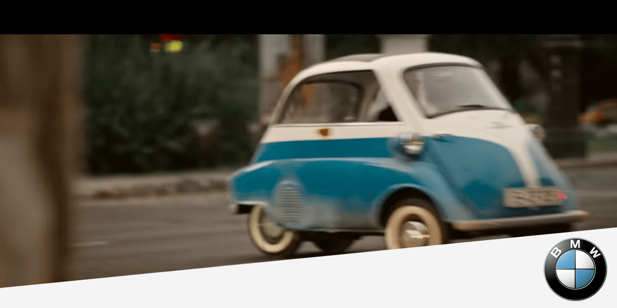 BMW Isetta The small escape