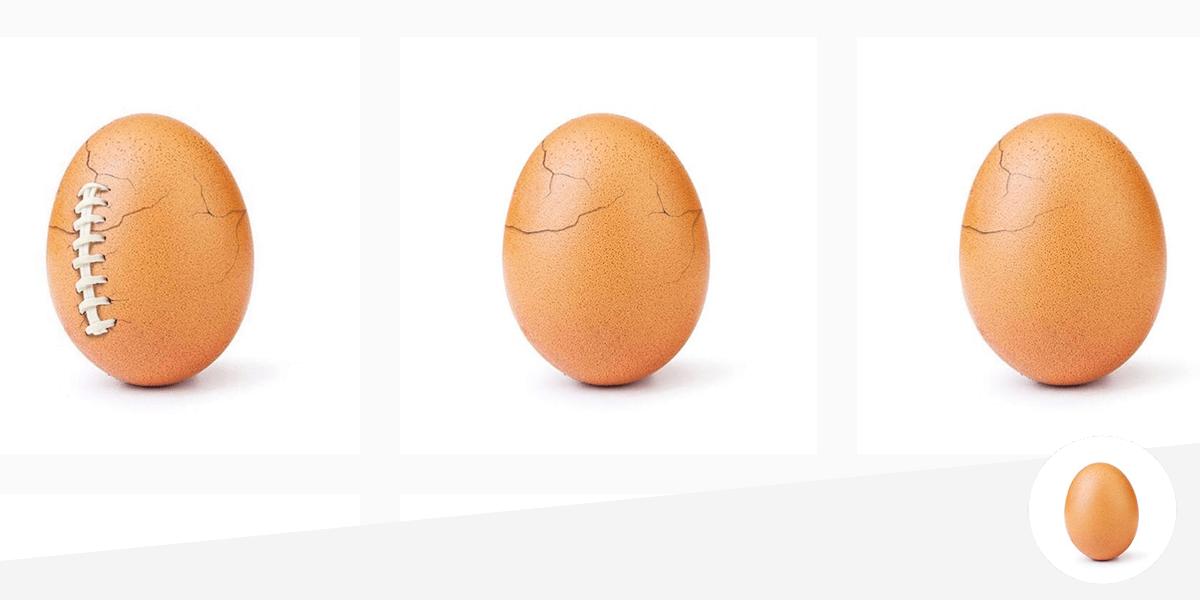 Das Instagram Ei