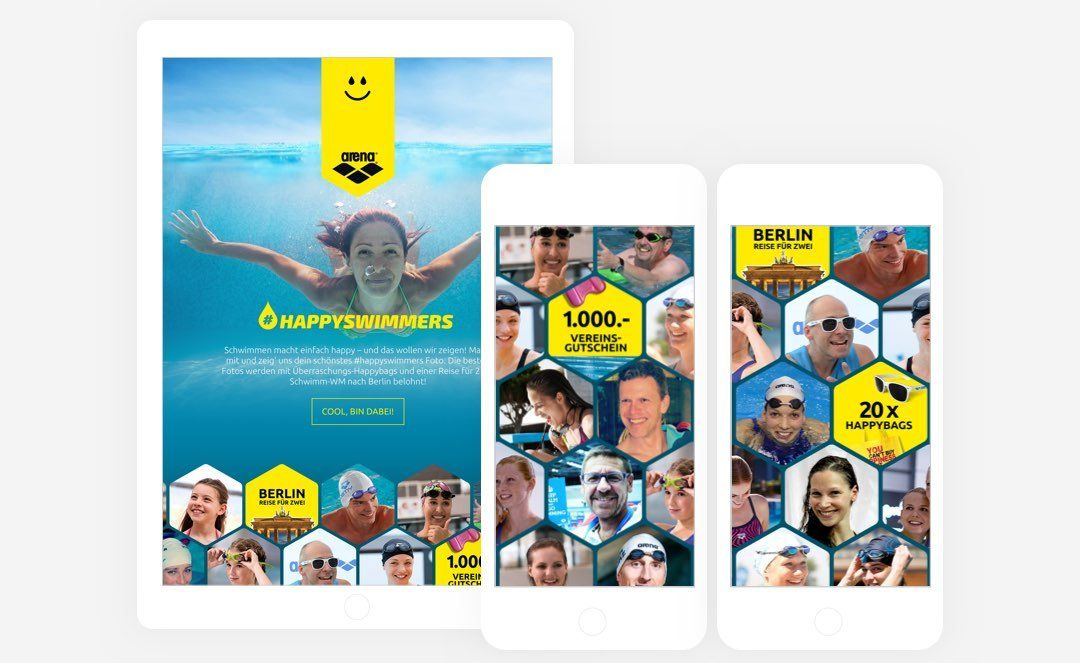 Arena Happy Swimmers App