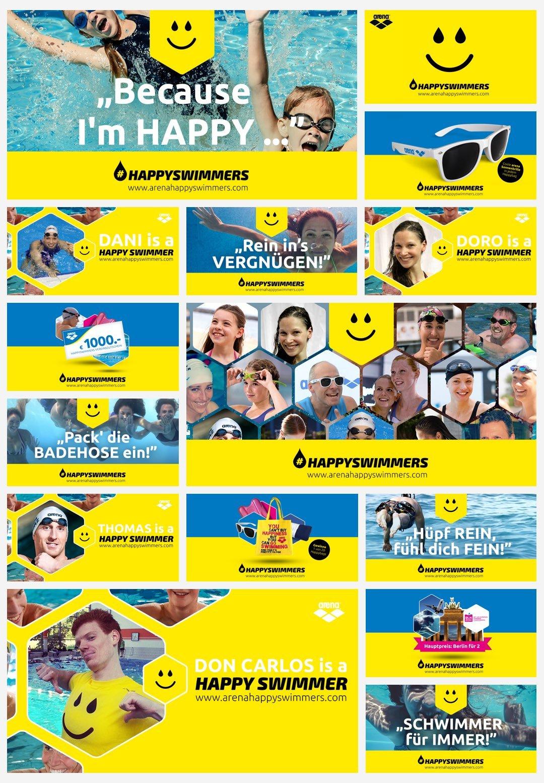 Arena Happy Swimmers Facebook Posts
