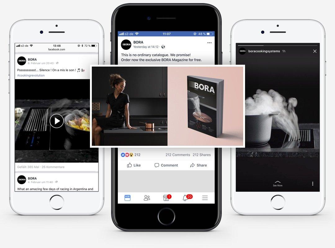 BORA Social Media Marketing Devices