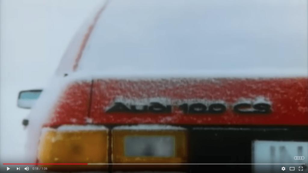 Audi quattro 100