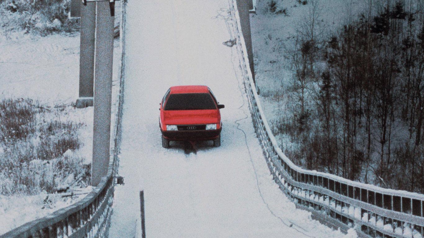Audi quattro Schanze